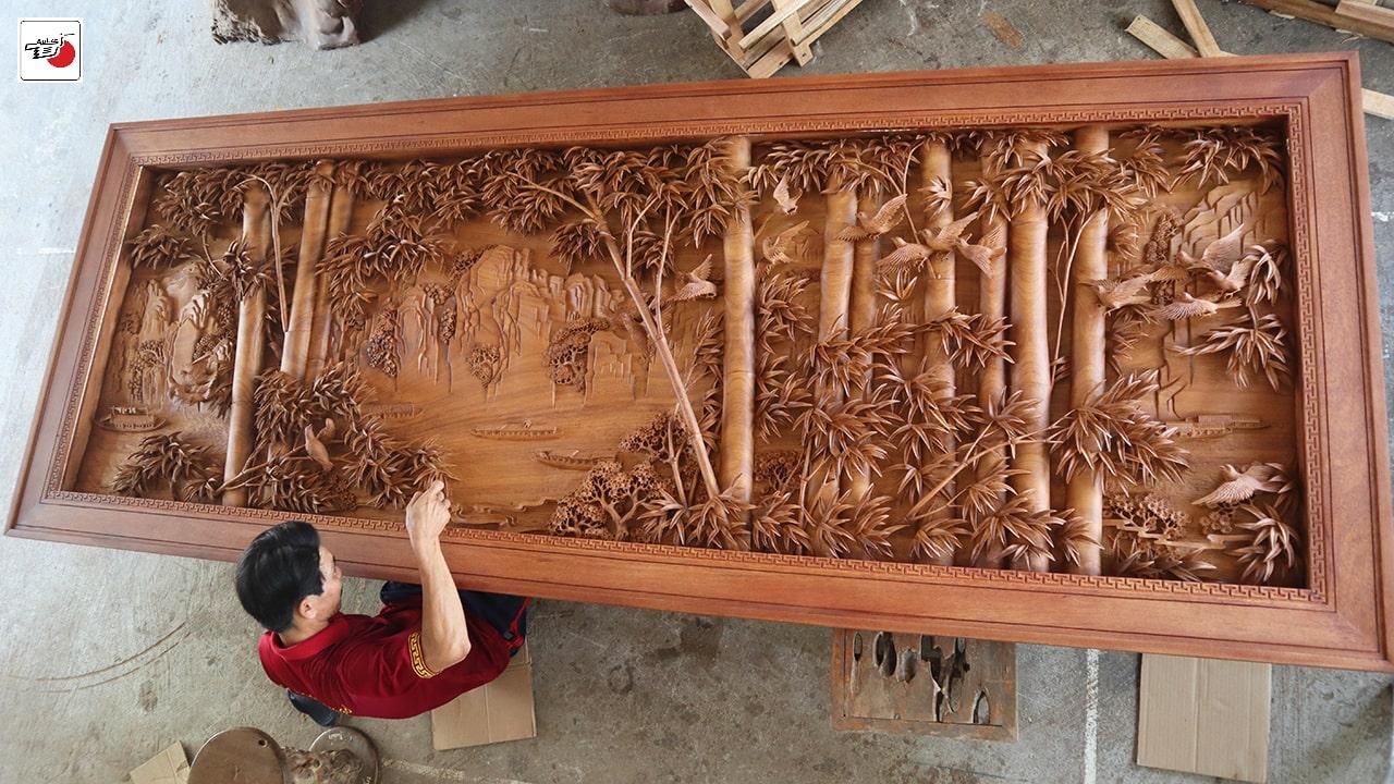 tranh gỗ cực phẩm