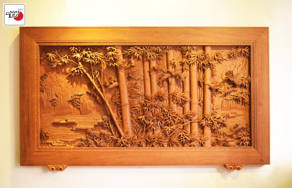 tranh gỗ treo tường đẹp nhất