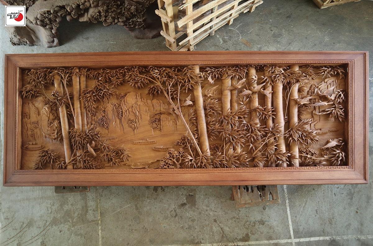 Tranh điêu khắc gỗ đỉnh cao