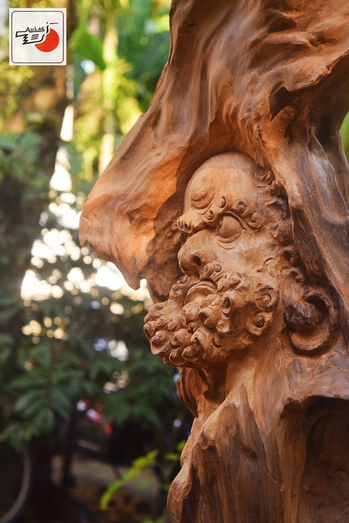 tượng gỗ lũa nghệ thuật