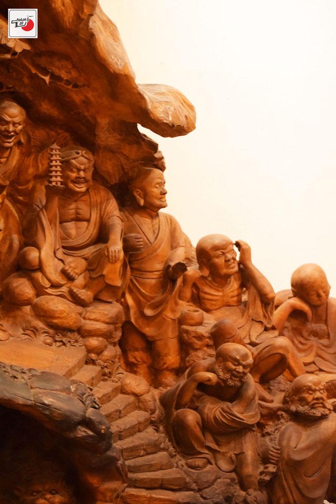 tượng gỗ cao cấp