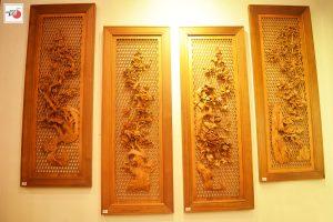 5 mẫu Tranh gỗ tứ quý tuyệt đẹp