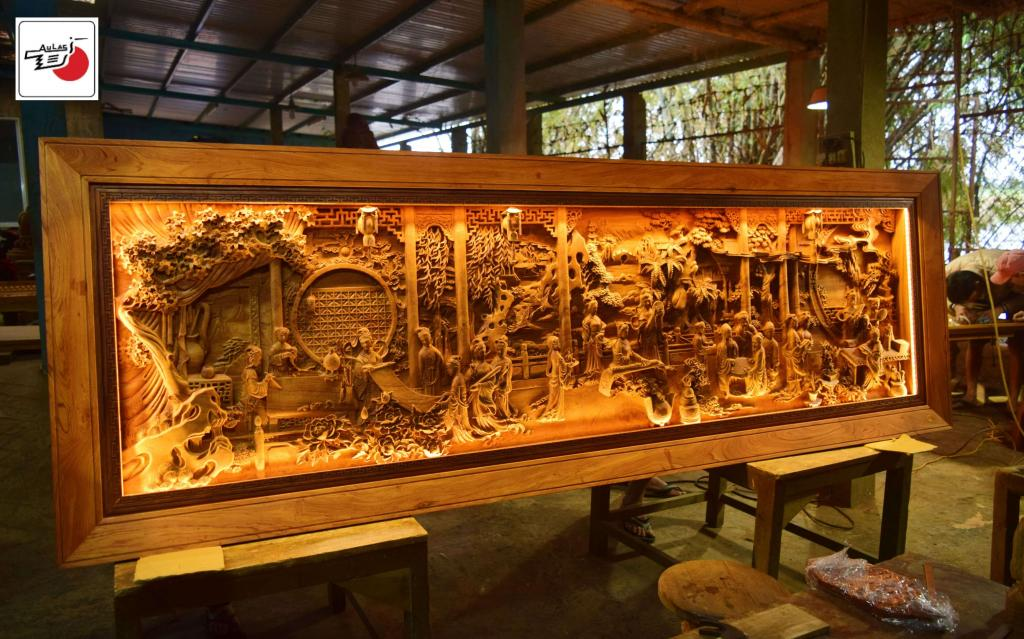 tranh gỗ cao cấp