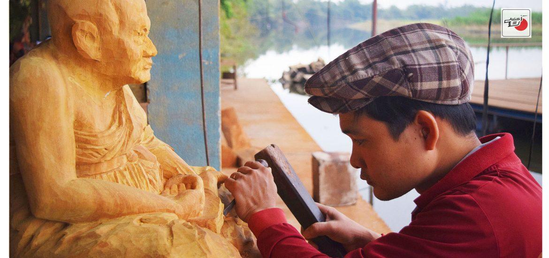tượng gỗ điêu khắc
