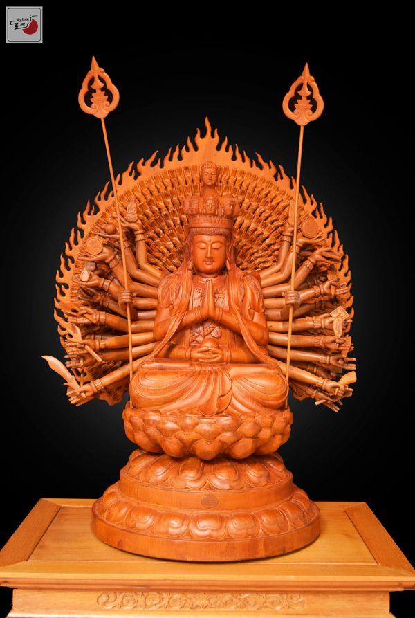 tượng gỗ thiên thủ thiên nhãn