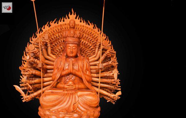 tượng gỗ phật