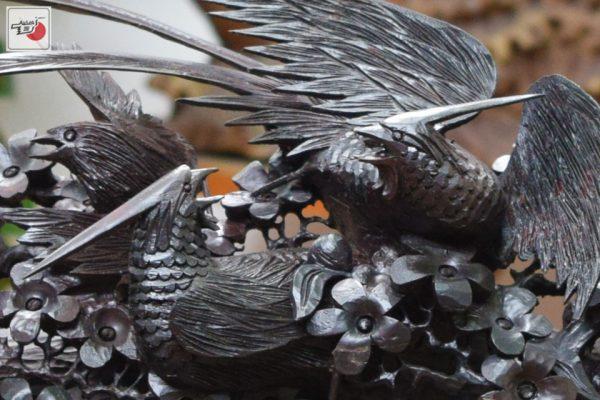 chim và hoa mai