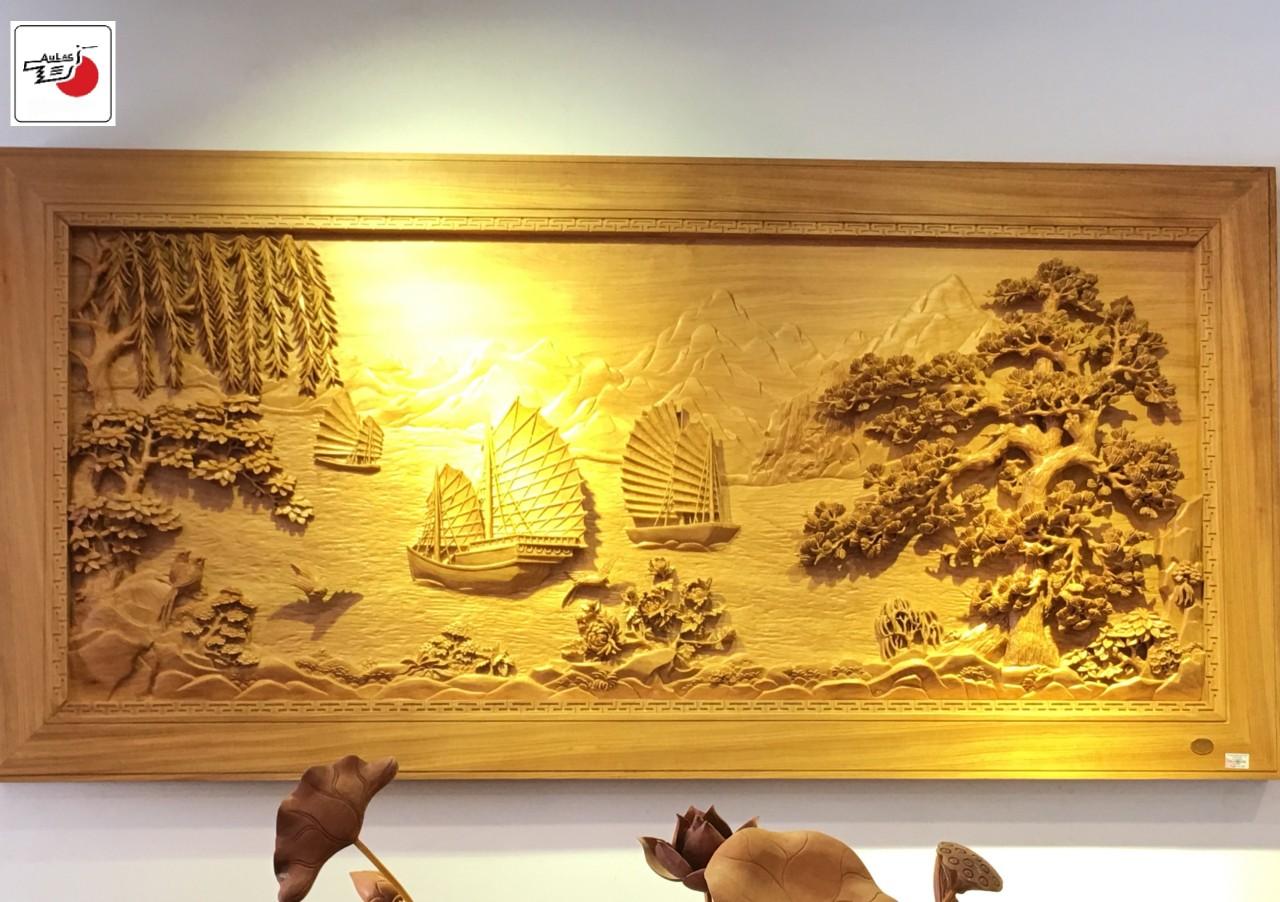 những mẫu tranh gỗ đẹp