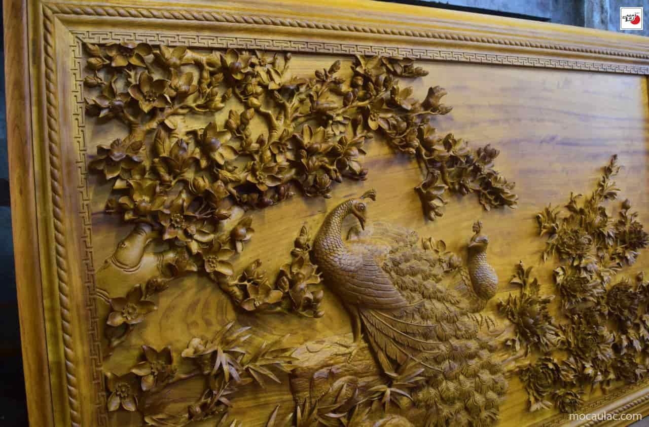 Tranh gỗ Phú Quý Cát Tường